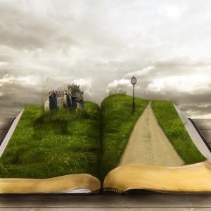 Path through a book